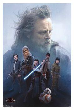 Trends International Star Wars The Last Jedi Protect Poster 34x22