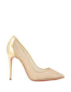 #CHRISTIANLOUBOUTIN Follies Resille Pumps