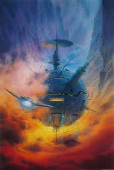 #spaceopera #scifi setting and scene inspiration
