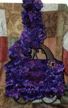 Crochet Ruffle Scarf Yarn Bee Chrysalis Pipevine