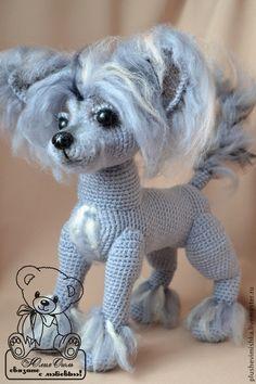 Купить Майбах . КИТАЙСКАЯ ХОХЛАТАЯ - серый, собака, собачка, собаки, собака игрушка, собачки