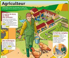 Fiche exposés : Agriculteur