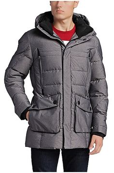 Outdoor jacket 'Jaboah' with down/feather padding
