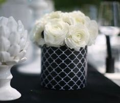 Black and white wedding ceremony flowers, wedding décor, wedding flower arrangement, add pic source on comment and we will update it.