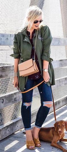 Women S Fashion Magazine Over 40 Fall Fashion Outfits, Style Fashion, Fashion Ideas, Winter Outfits, Blue Jean Outfits, Booties Outfit, Mini Dress With Sleeves, Pants For Women, Gray Jacket