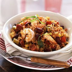 Making this Cajun recipe in the slow cooker allows the flavors of the various ingredients to mingle and develop into a zestfully robust meal.