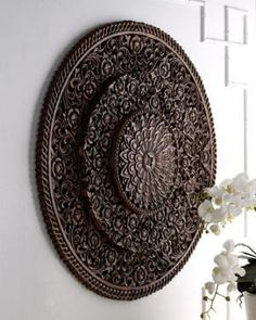 Barn Yen Thai   Carved Wall Decor   Horchow