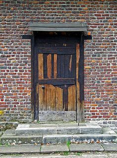 This old door is on Queen Charlottes Cottage in Kew Gardens