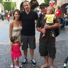 Dustin Brown at Disneyland! 2011