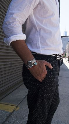 Relaxed Cartier spotted on the street for #TourneauTrends at #NYFWM. Shop Certified Pre Owned Cartier at Tourneau.com
