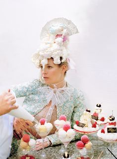 Kate Moss by Tim Walker for Vogue UK, April 2012.