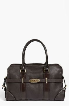 Burberry 'London Grainy' Leather Tote