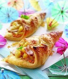 Das Rezept für Pizzataschen Hawaii und weitere kostenlose Rezepte auf LECKER.de