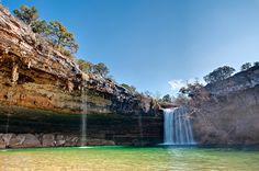 Hamilton Pool near Austin, Texas