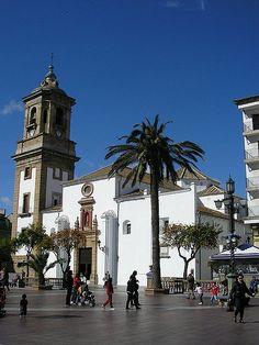 Cadiz Algeciras Iglesia de la Palma. Sus obras comenzaron en 1723 siendo consagrada en 1829.