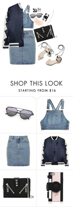 """""""#shein"""" by alekshine ❤ liked on Polyvore featuring Moschino, Topshop, Goen.J, 3.1 Phillip Lim, Kenzo, Kate Spade and Eve Lom"""