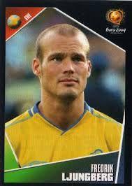 Freddie Ljundberg of Sweden. Arsenal Football, Uefa Champions League, Fifa, Korea, European Championships, Japan, Sweden, Portugal, Baseball Cards