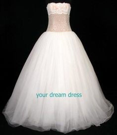David's Bridal Cinderella Story David's Bridal Strapless Tulle Ball Gown Dress Style INT3211