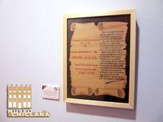 """Detalle de la exposición temporal """"El río de la memoria""""."""