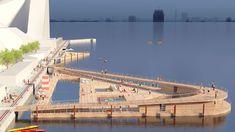 Havnebadet i Aarhus (c) BIG - Bjarke Ingels Group Pavilion Architecture, Concept Architecture, Sustainable Architecture, Residential Architecture, Landscape Architecture, Contemporary Architecture, Urban Landscape, Landscape Design, Archi Design