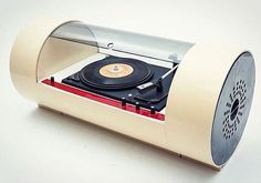 PAAM tube turntable 1968 Designed by Yonel Lebovici