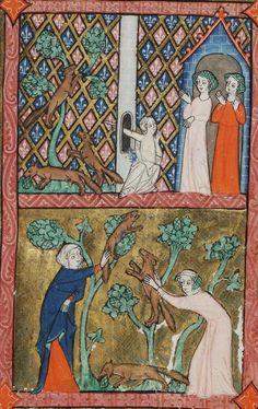 klikni pro další 127/150 Diapering, Illuminated Manuscript, Historical Clothing, Cross Stitch Patterns, Medieval, Buttons, Portrait, Painting, Image