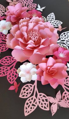 Paper flowers for nursery Nursery paper flowers Nursery