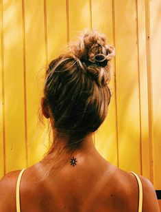 See more of hannahrodg's VSCO. Mini Tattoos, Small Tattoos, Tiny Sun Tattoo, Surfergirl Style, Cute Tats, Mellow Yellow, Colour Yellow, Piercing Tattoo, Future Tattoos