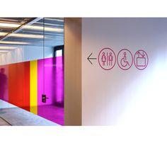 by Canya. Diseno de identidad corporativa  La Rambleta. Senaletica Signage, Behance, Interior, Inspiration, Valencia, Design, Home Decor, Architecture, Corporate Identity Design