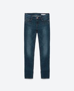 Image 8 of MID-RISE SKINNY JEANS from Zara