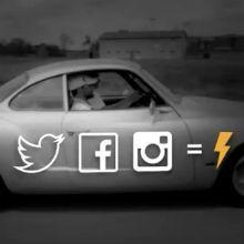 Essa é uma boa idéia: instalar em um Volkswagen Karmann Ghia um Arduino para que ele possa monitorar as mídias sociais e literalmente correr.