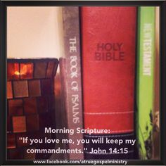 "Morning Scripture: ""If you love me, you will keep my commandments."" #morningscripture #scripturequote #biblequote #instabible #instaquote #quote #goodmorning #seekgod #godsword #godislove #gospel #jesus #jesussaves #teamjesus #LHBK #youthministry #preach #testify #pray #obey #love #believe #faith #trust #truth #instapray #instafaith #testify"