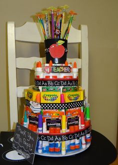 Cake Making Schools In Harare : 1000+ ideas about Teacher Supply Cake on Pinterest ...