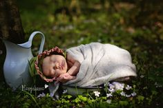 A Newborn portrait by Korpilumo