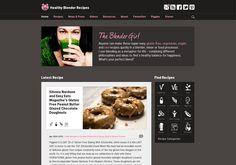 A wonderful mix of vegetarian, vegan, & raw recipes from @The Blender Girl http://healthyblenderrecipes.com