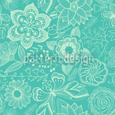Supernatural Beauty by Irina Timofeeva available as a vector file on patterndesigns.com