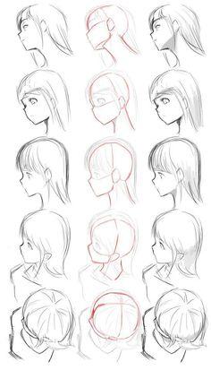 Remark dessiner un visage au crayon - #au #comment #crayon #dessiner #visage