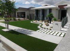 ideas-jardines-decorar-entradas-12   Decoracion de interiores Fachadas para casas como Organizar la casa