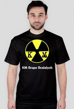 T-Shirt z logiem serwisu KM-Grupa Ocalałych [kolor]