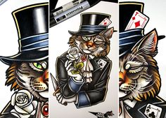 The cat in the hat by katya-kabum.deviantart.com on @DeviantArt