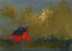 Asking House  Original Oil Painting Landscape by SeminaryRoad, $140.00
