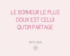 Etre heureux, partager sa joie de vivre #DouxGood #Bonheur #bien-être #motsdoux #cosmétiquesbio #soinsbio #artdevivre