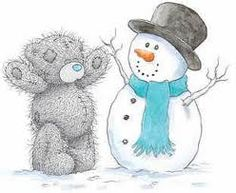 - Made a snowman like this at home!!!!!!!!!
