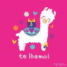 Alpacas, Cute Cartoon Wallpapers, Cute Wallpaper Backgrounds, Llama Arts, Llama Print, Llama Birthday, Cute Llama, Llama Alpaca, Dibujos Cute