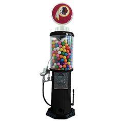 http://www.collegeandnfl.com/product-p/fgg135b.htm    Washington Redskin Retro Looking Gas Pump Gumball Machine that distributes real gumballs!