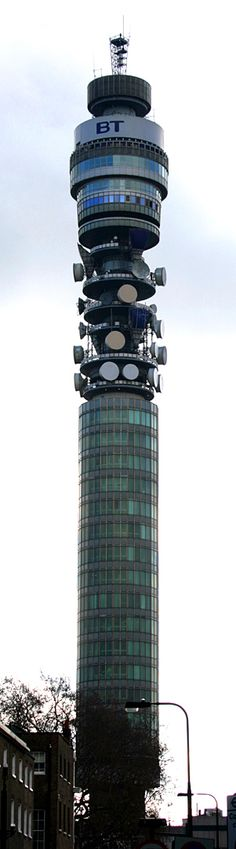 The BT Tower near our office