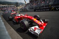 Ferrari's Finnish driver Kimi Raikkonen drives during the first practice session at the Monaco street circuit, on May 26, 2016 in Monaco, three days ahead of the Monaco Formula 1 Grand Prix. / AFP / ANDREJ ISAKOVIC