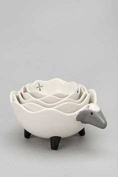 UrbanOutfitters.com > Sheep Measuring Cup Set