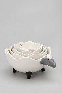 Sheep Measuring Cup Set - Adorable!!
