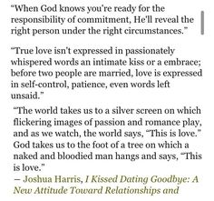 Why i kissed dating goodbye quotes